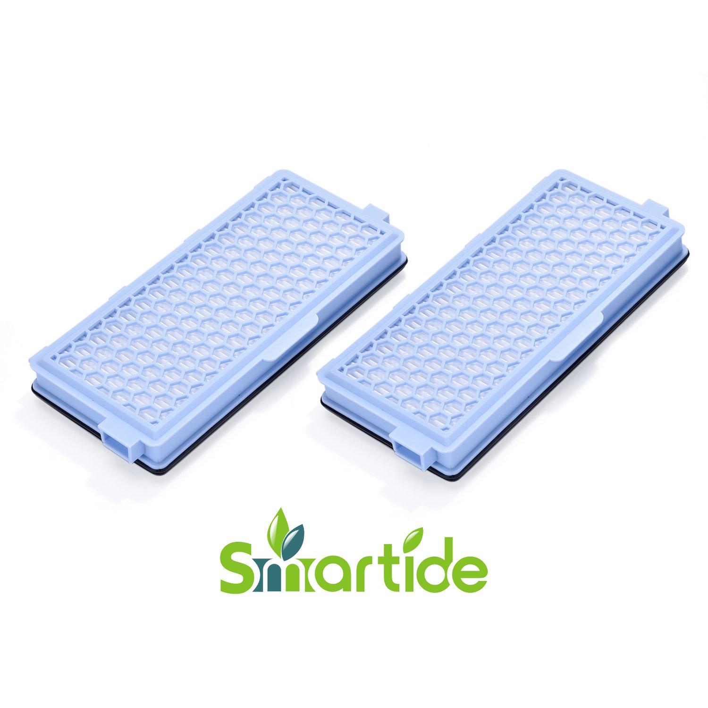 Smartide Filtro HEPA attivo Filtro aria aspirapolvere SF-HA 50 AirClean per Miele S4 S5 S6 S8 e S4000 S5000 S6000 S8000 (2 Pack)