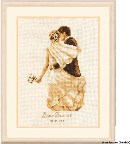TOGETHER FOREVER Counted Cross Stitch Kit by Vervaco