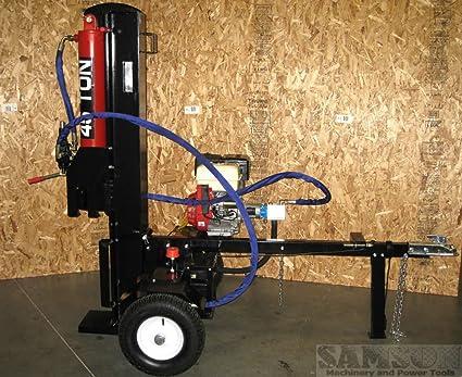 Amazon.com: 45 Ton, cuña de 15Hp – Gasolina hidráulico ...