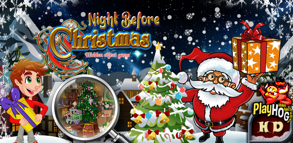 Night before Christmas - Find Hidden Object Game [Download]