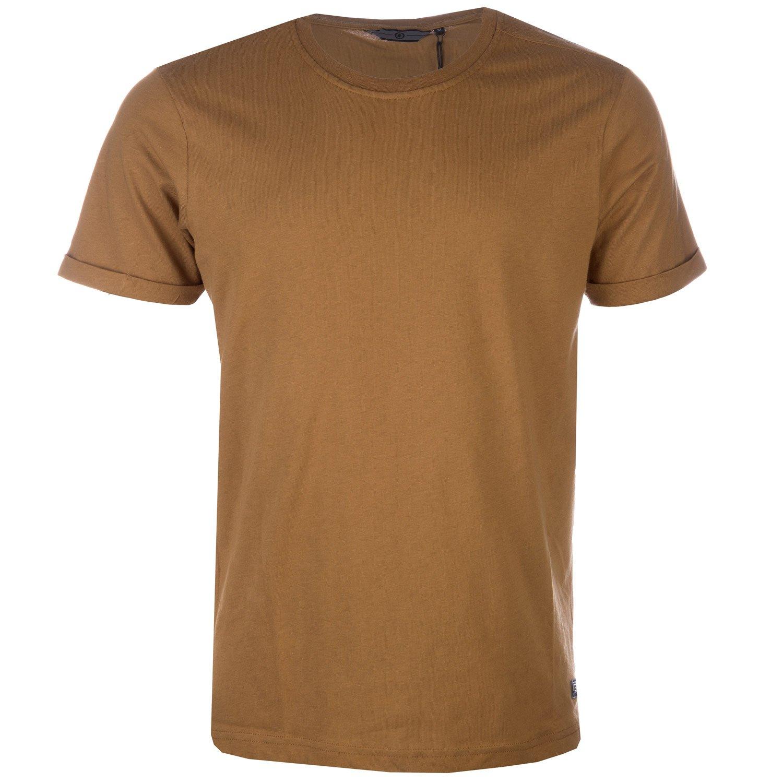 ETO Camel Mens Anchor Logo T-Shirt