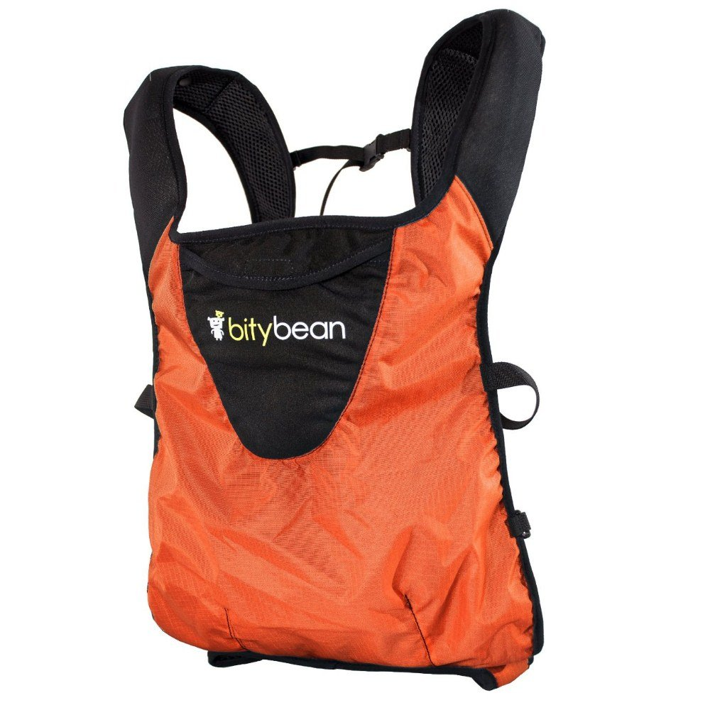 Bitybean UltraCompact Baby Carrier – Carrot Orange