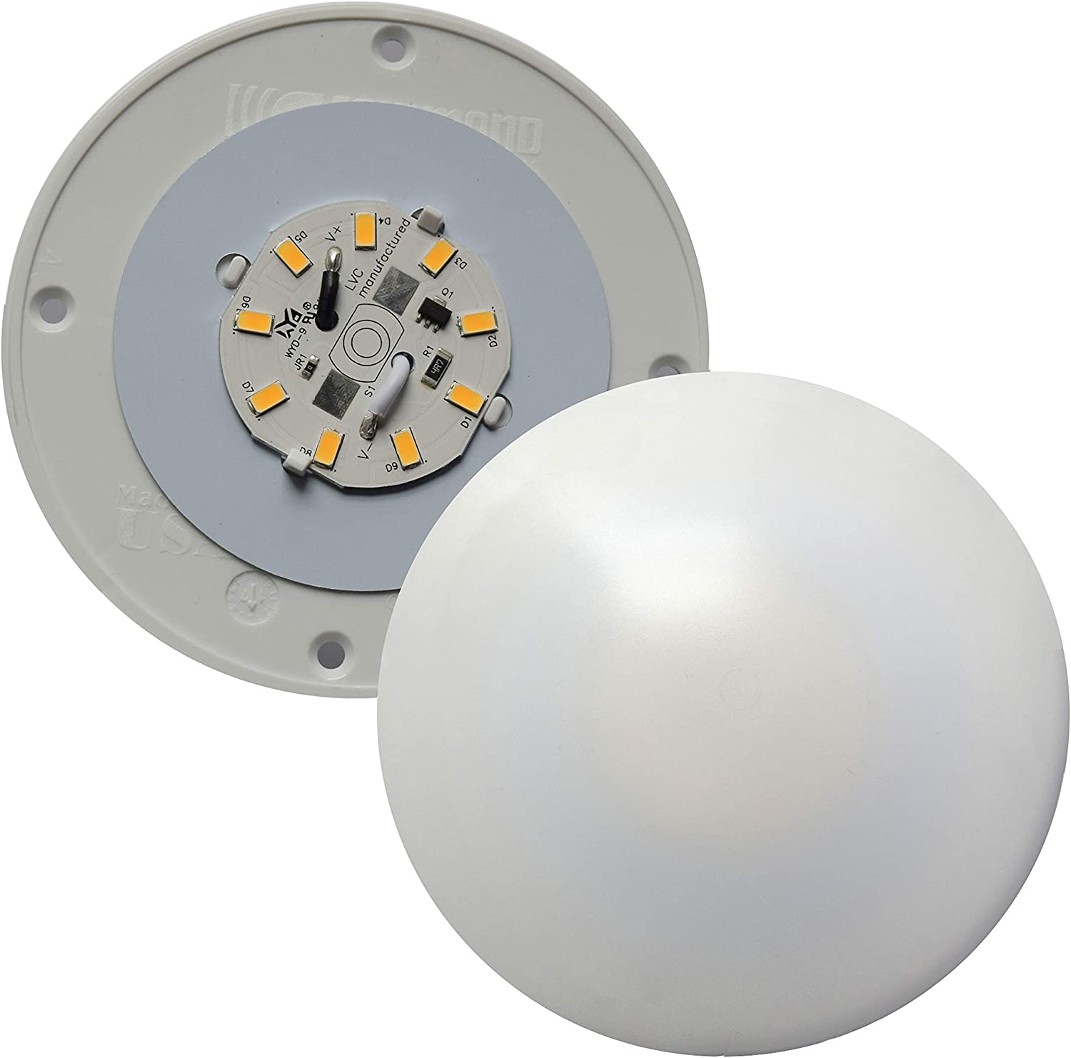 fasteners unlimited 001 1050 undercabinet led light 4\