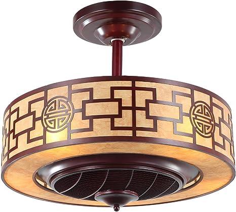 Ventilador de techo con luz 42 pulgadas 6 sujetadores de la ...
