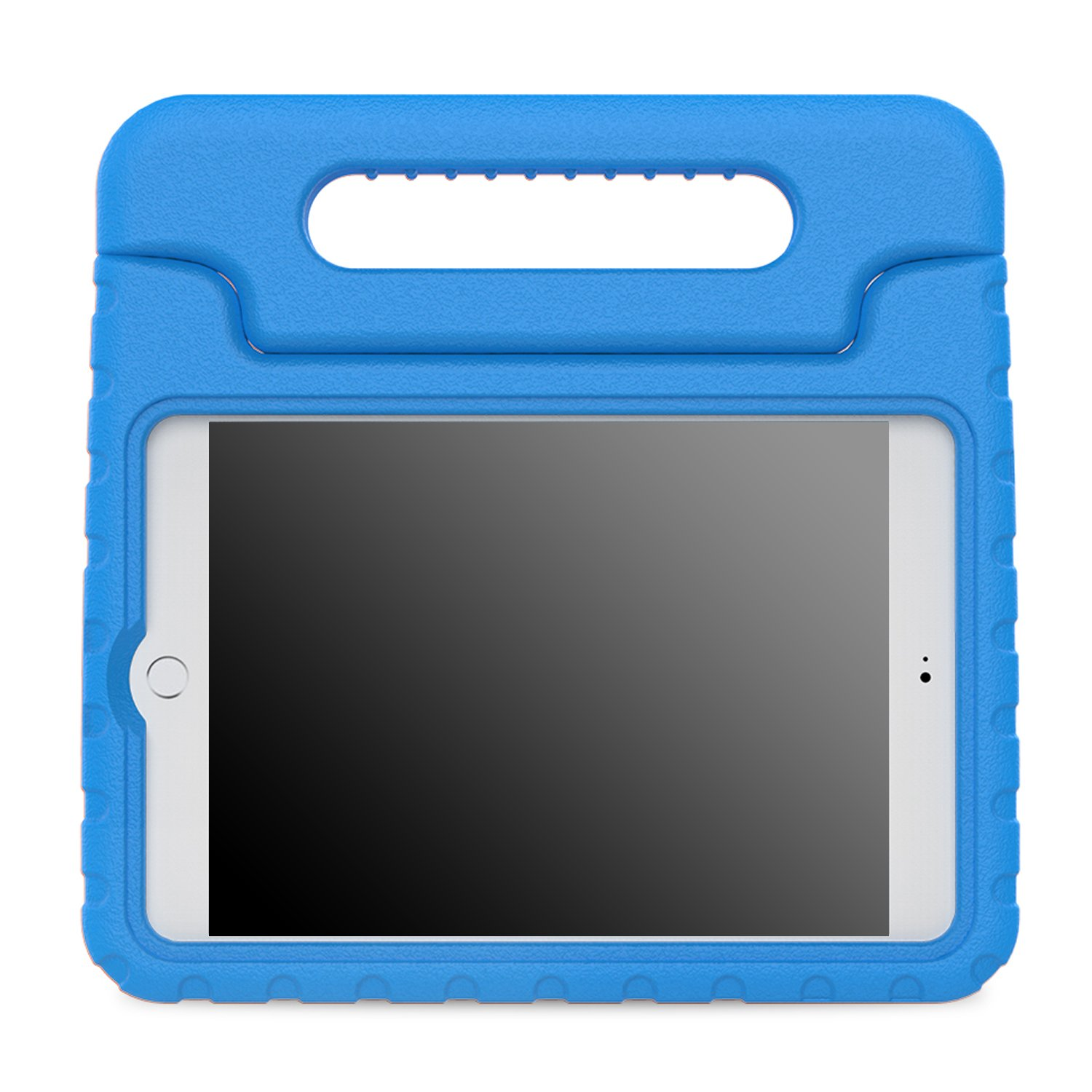 MoKo Case Fit iPad Mini 4 - Kids Shock Proof Convertible Handle Light Weight Super Protective Stand Cover Case Fit Apple iPad Mini 4 2015 Tablet, Blue