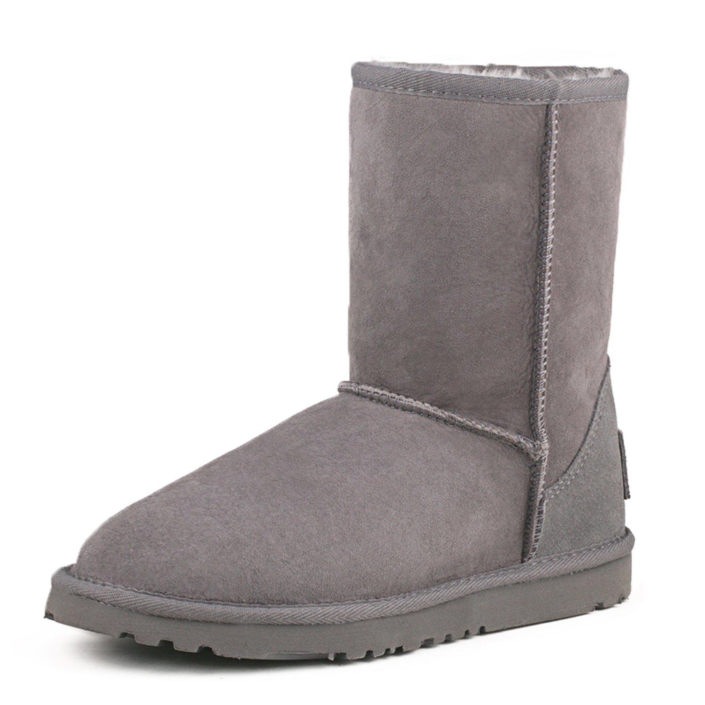 Shenduo, Bottes de Neige Femme Imperméable, Boots Shenduo, Boots Hiver Mi-Mollet B014W8MLDY Doublure Chaude D9125 Gris ef9a783 - latesttechnology.space