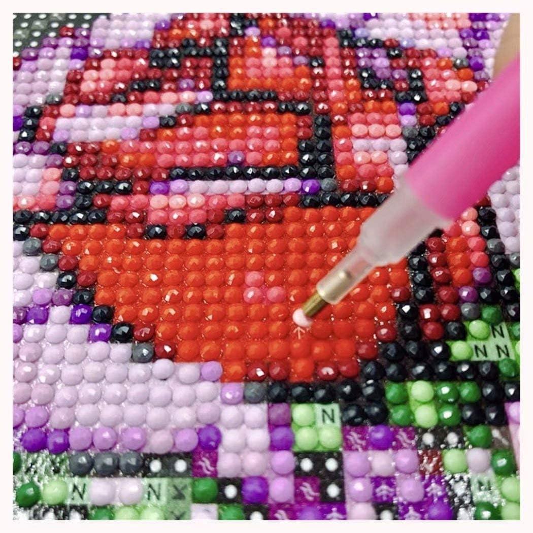 DIY Rhinestone Embroidery Full Drill Cross Stitch Arts Craft for Home Wall Decor Seaside Everyday 30X40cm 5D Full Diamond Painting Kit