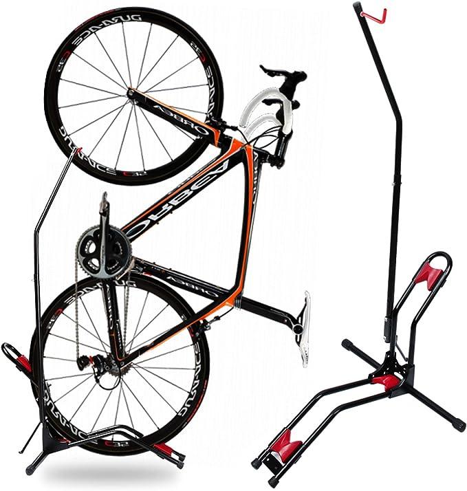 Heavy Duty Bicycle Stand Freestanding Bike Parking Display Rack Height Adjustabl