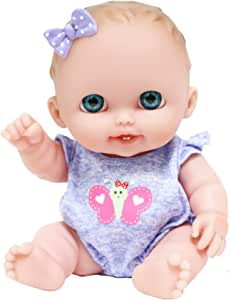 "JC Toys Lil Cutesies 8.5"" All Vinyl Baby Doll 