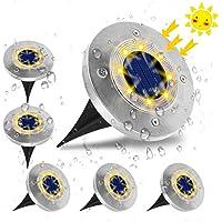 Luces Solares para Exterior Jardin,VIFLYKOO Luz Focos led Exterior Solar Luz de Jardin IP65 impermeable Lámpara de…