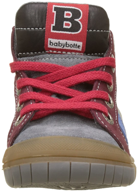 babybotte Sneaker Alte Artistreet per Bambino, Grigio (Grigio), 23 EU