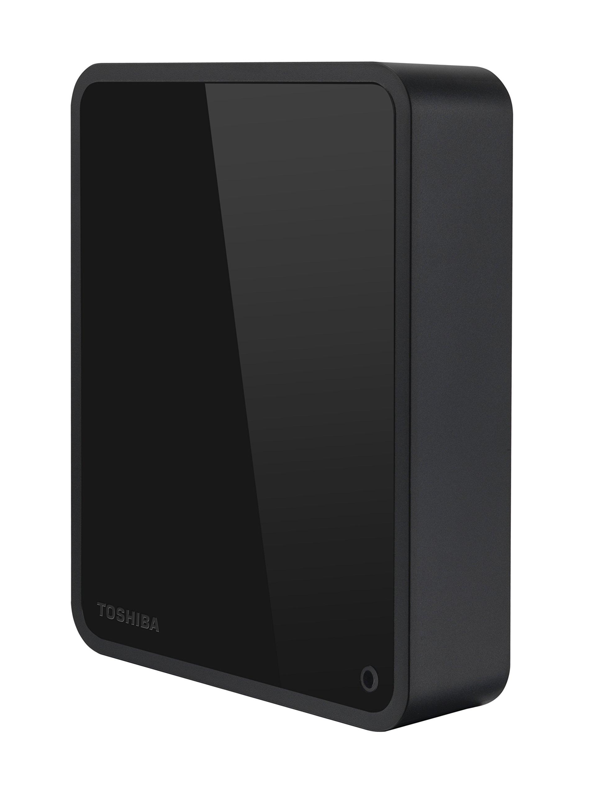 Toshiba 6TB Canvio for Desktop 7200 RPM External Hard Drive, USB 3.0 (HDWC360XK3JA)