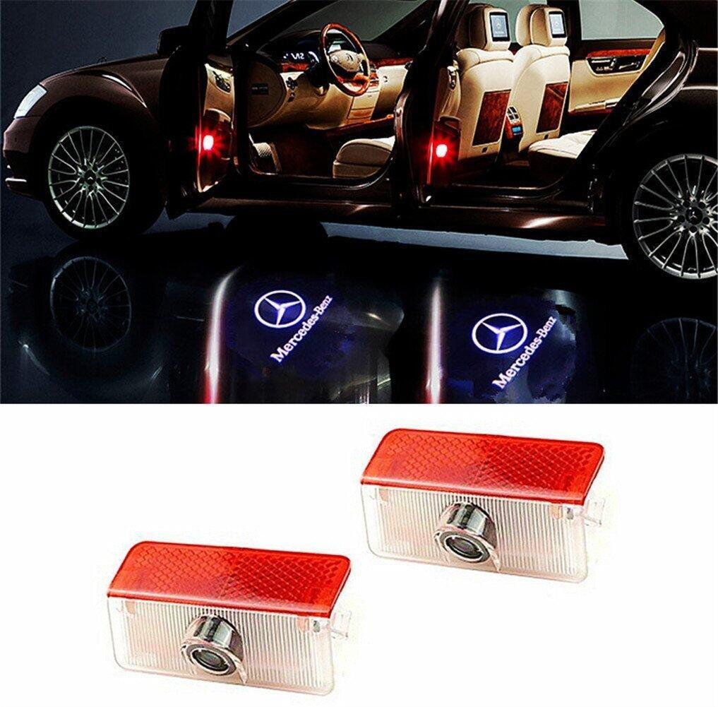 2Pcs WFB Land Rover Freelander discovery4 Evoque Car Door Projector Welcome Courtesy Shadow Logo Light