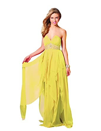 f5e4ad80c86 Clarisse Strapless Prom Gown 17153 at Amazon Women s Clothing store