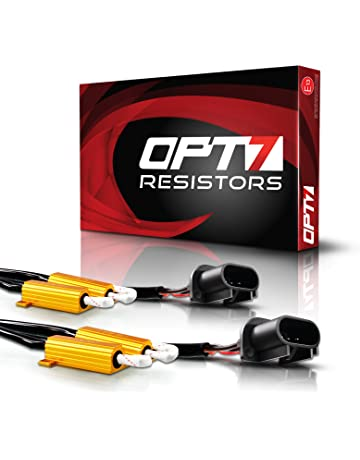 OPT7 2pc H13 9008 HID LED Resistors for TIPM Dodge RAM Jeep Chrysler