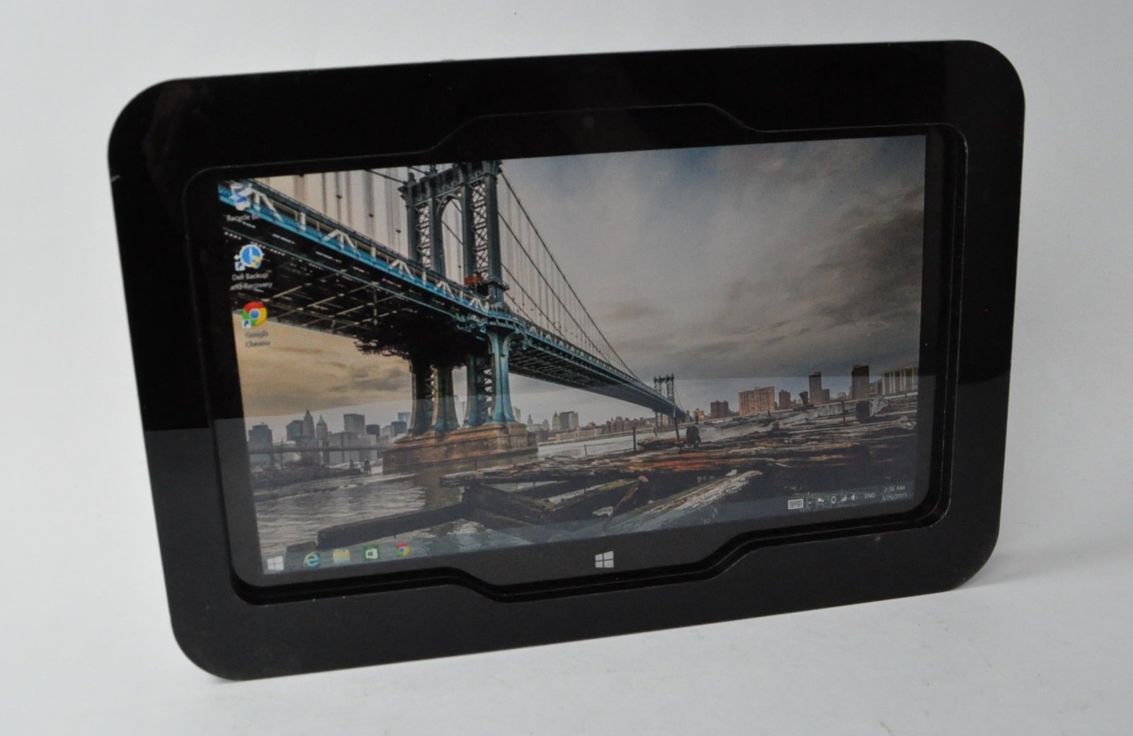 Black Acrylic VESA kit for TABcare Compatible Dell Venue 11 Pro Used as Store Display, Show Display, Kiosk, POS