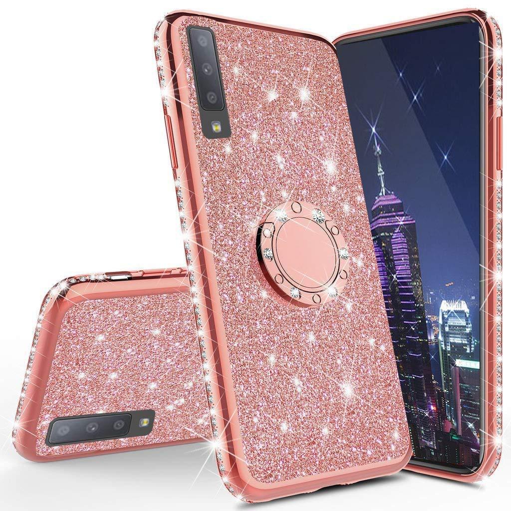 Funda Para Samsung Galaxy A70 Glitter Con Pie Cotdinforca [7tkl4vsp]