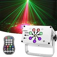 EatronChoi Discolamp, 240 ledpatroon, partylicht, USB-discobal, geluidsgeactiveerde podiumverlichting met draadloze…