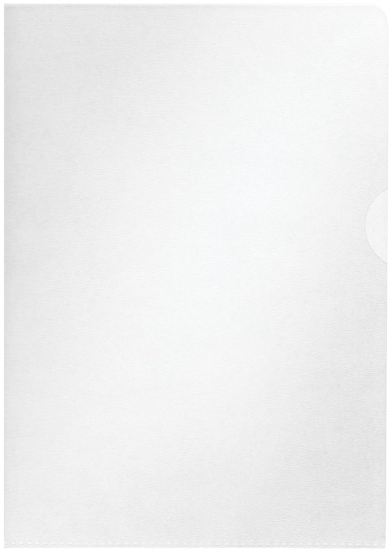 100 pezzi Carpetta trasparente formato A4 65 Micron Centra Standard