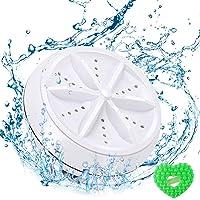 Mini lavadora - Lavadora portátil ultrasónicacon alimentación por USB, Bubbler - limpiar y desinfectar máscaras faciales…