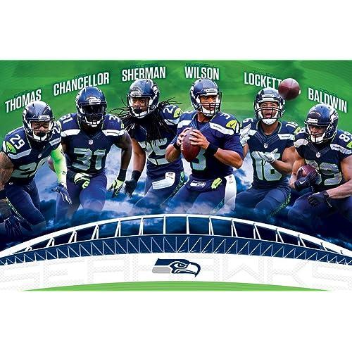 Seattle Seahawks Wall Art: Amazon.com