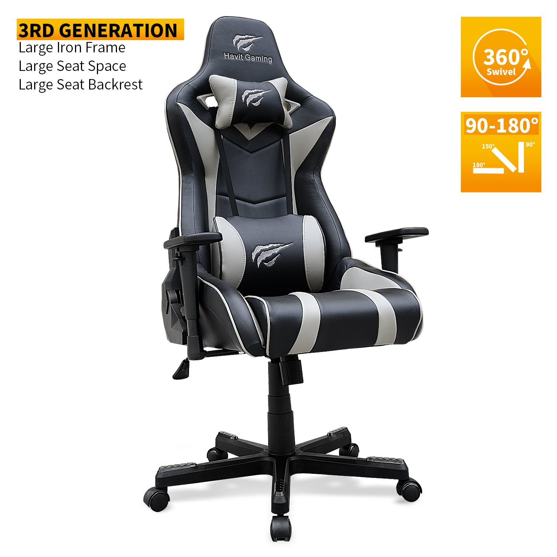 Amazon Ergonomic Gaming Chair PU Leather High density Sponge