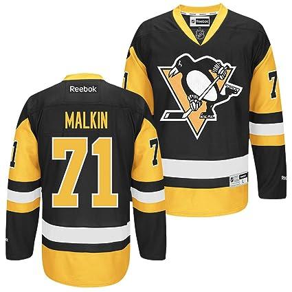 Pittsburgh Penguins  71 Evgeni Malkin Black Alternate Premier Jersey (S) 9f022baf8