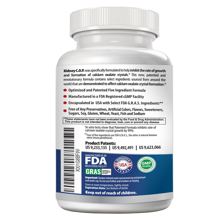 Amazon.com: Protector de oxalato de calcio de COP de riñón ...