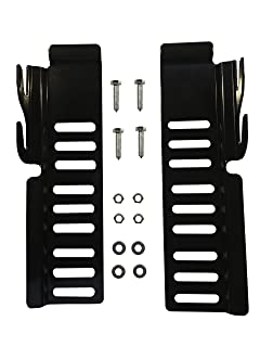 NUTS CLAW IT ON 65 Bed Rail Hooks Adapter Conversion Kit Bolt On Bed Headboard or Footboard Frame 2 Pack Comes with Longer BOLTS WASHERS adjustments in Height /& Vertical /& Width directions TRENZEK