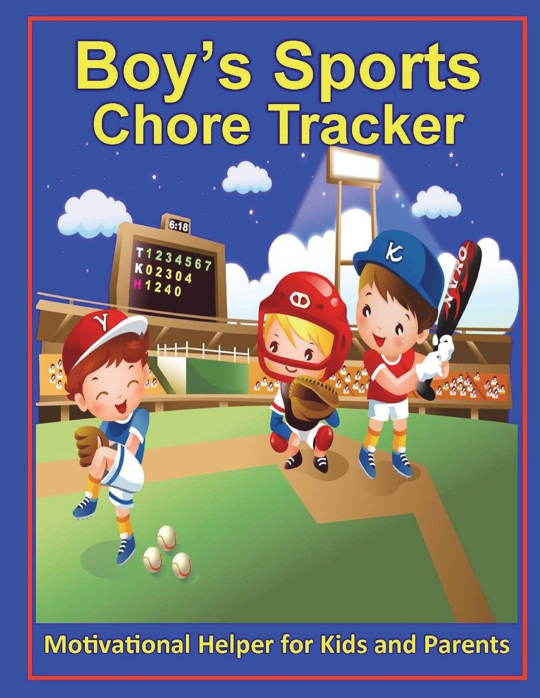 Download Boys Sports Chore Tracker: 8.5 X 11, Full Color Interior, #Chores, Chore Chart, Chore Board, #MomLife, #FamilyGoals, Kids, Parents, Boys, Sports, Basketball, Baseball pdf