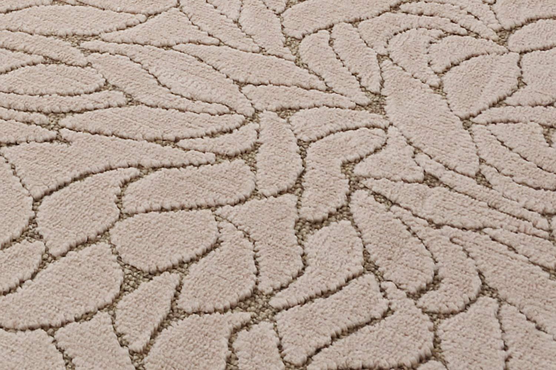 ふわふわレトロモダンな柄のカーペット ビリーブ(N) 十畳,10畳,10帖 352×440cm ベージュ 10畳(352×440cm) ベージュ B0090CGMHO