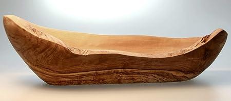 Figura Santa Cesta de Pan de Madera de Olivo Baguette. Diseñado ...