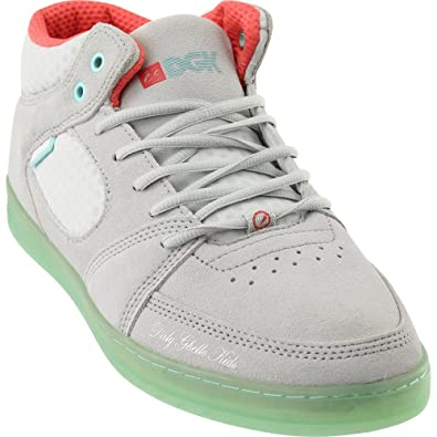 b05d7fe41908b5 eS Men Accel Slim Mid X DGK Grey Blue Shoes Size 7