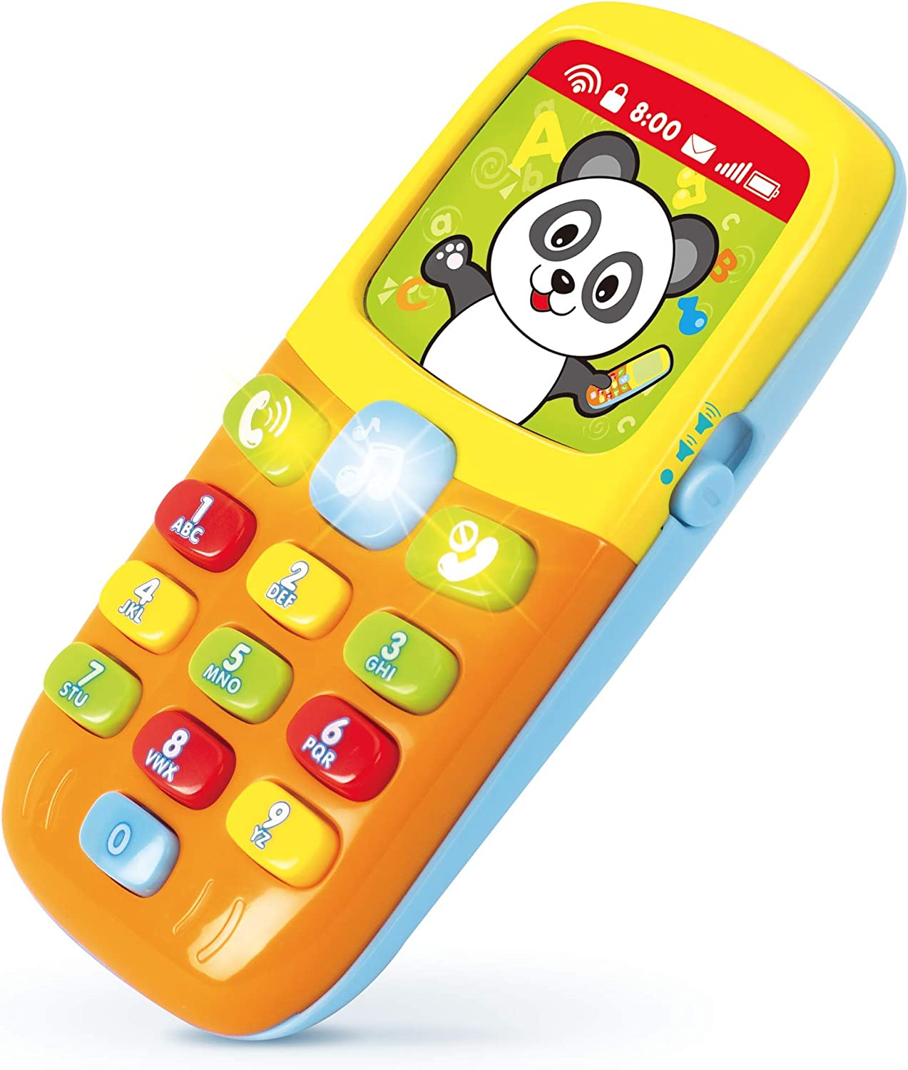 KIDS MUSIC MOBILE PHONE CHILD CELL TOYS LEARNING FUNCTION LIGHT SOUND FUNCTION