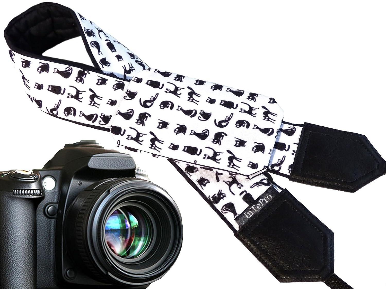 Gato Correa de cámara con Bolsillo. Negro y Blanco Animales. Cute ...
