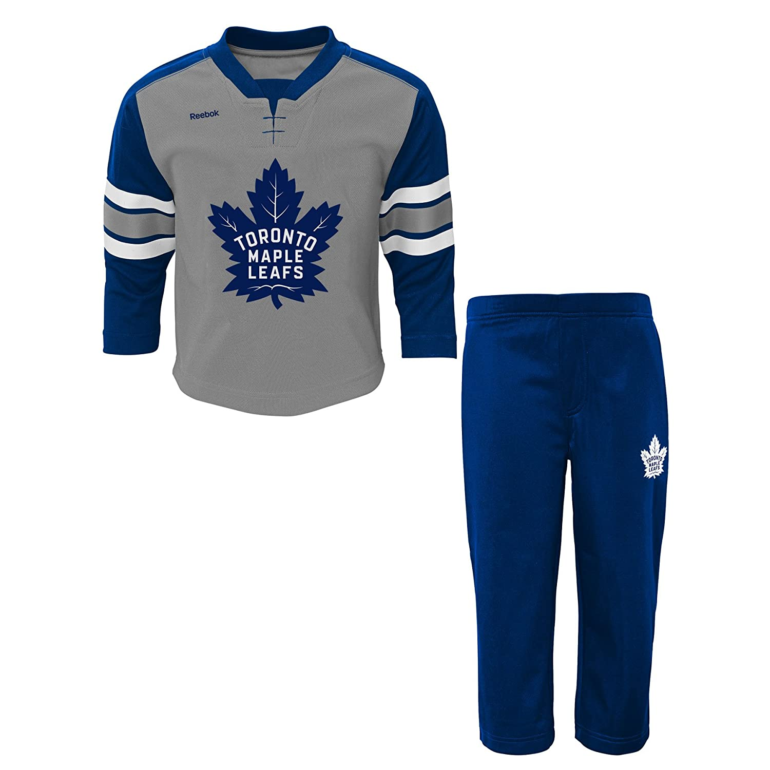 Toronto Maple Leafs Infant MVP Long Sleeve T-Shirt & Pant Set Reebok