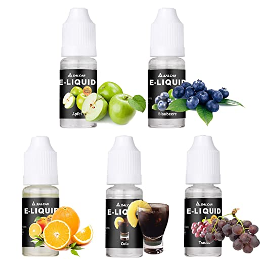 71 opinioni per Salcar liquido, una confezione (5 flaconi da 10 ml) per sigarette