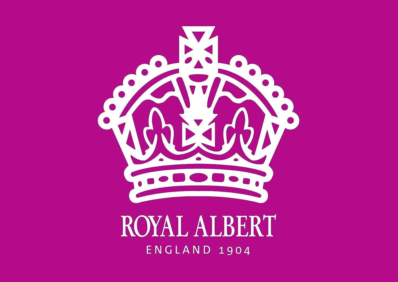 Knochenporzellan Mehrfarbig Royal Albert New Country Pink Roses Tee Tasse und Sauce Vintage Box