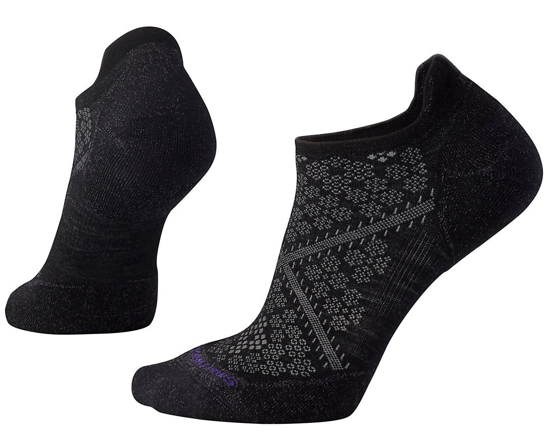 SmartWool Women's PhD Run Light Elite Micro Socks (Black) Medium