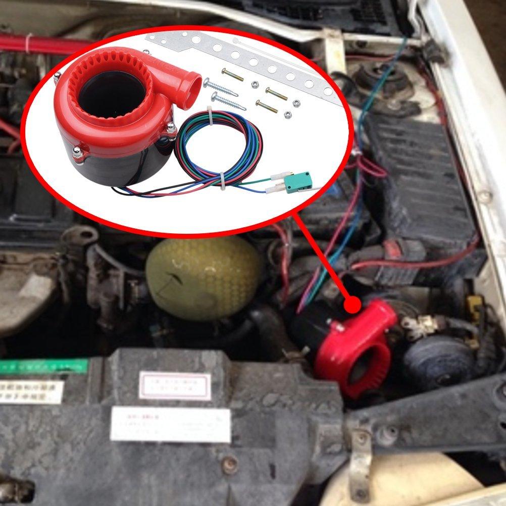 Astra Depot Car Fake Dump Valve Electronic Turbo Blow Off Valve Analog  Sound BOV