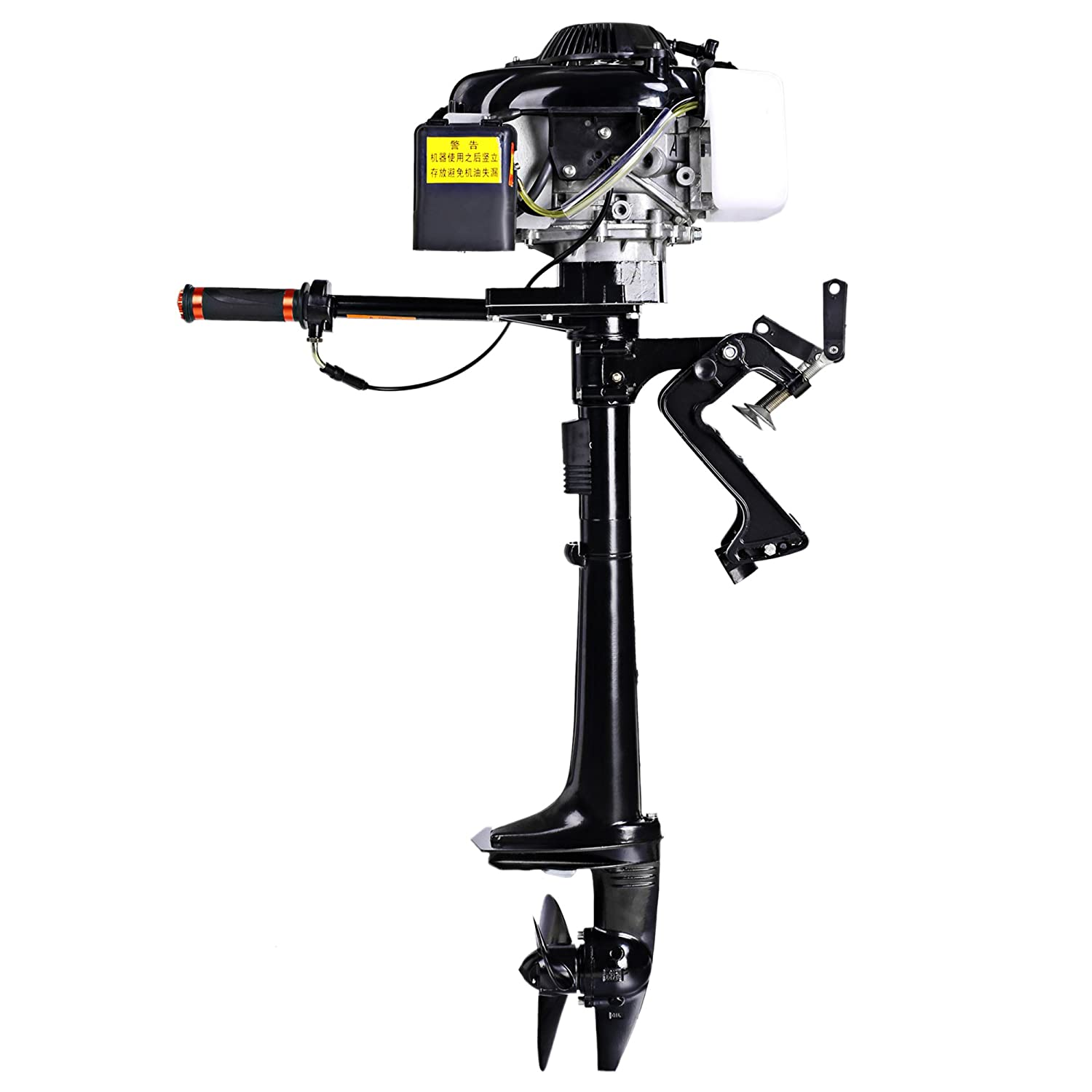ANCHEER 3 6 HP 4-Stroke Ship Outboard Motor Inflatable