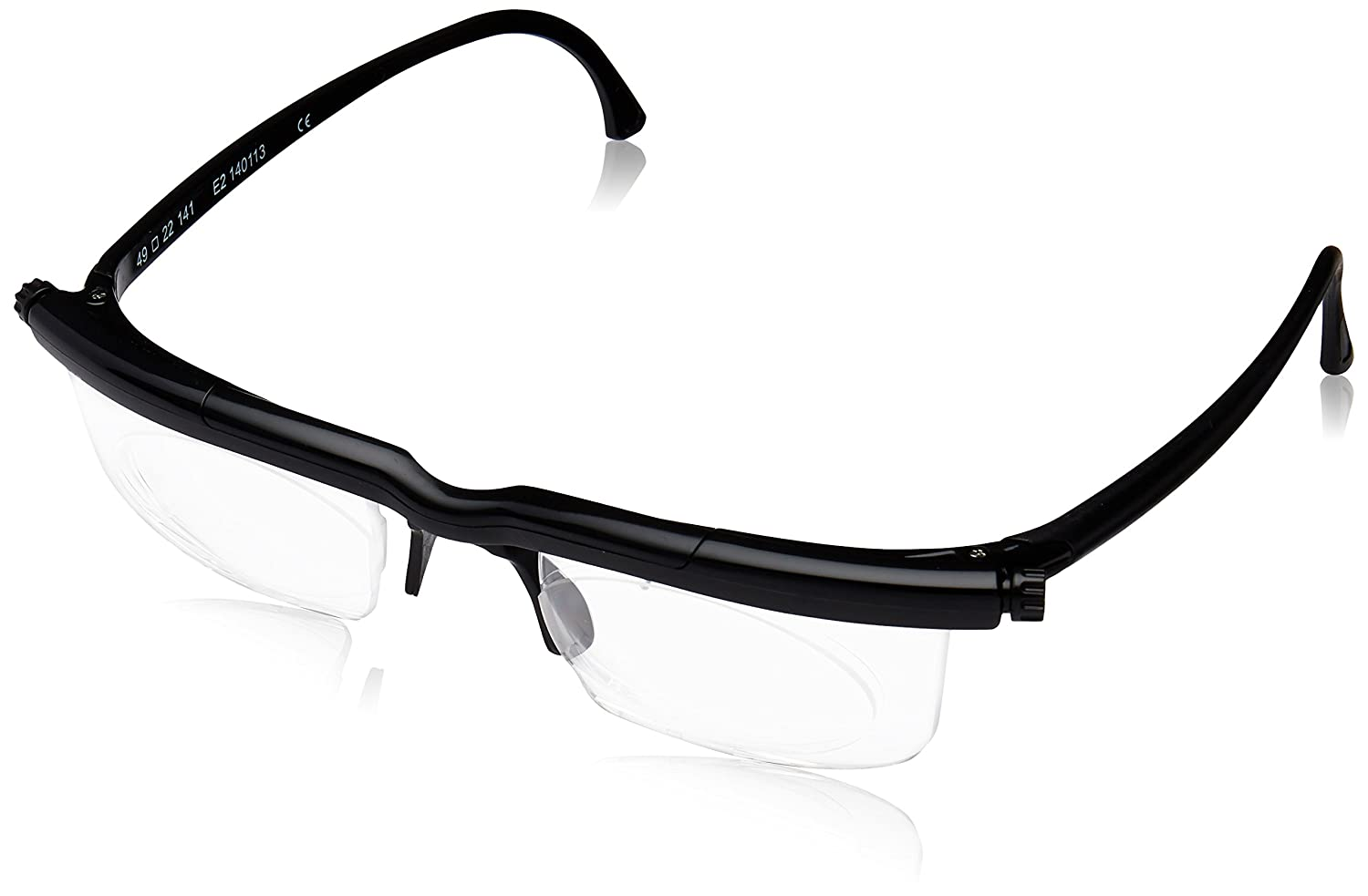Adlens Men's Prescription Eyewear Frame Black 5055600901146