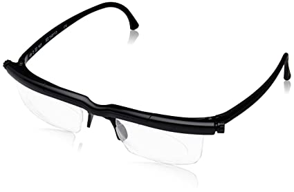 3d6fb23336 Adlens Adjustables Black Unisex Variable Focus Eyewear  Amazon.ca ...