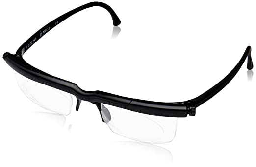 Adlens Adjustables Various Focus Eyeglasses (Black)