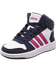 adidas Hoops Mid 2.0, Zapatos de Baloncesto Unisex Niños