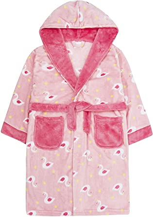 Babies White Unicorn Robe//Dressing Gown