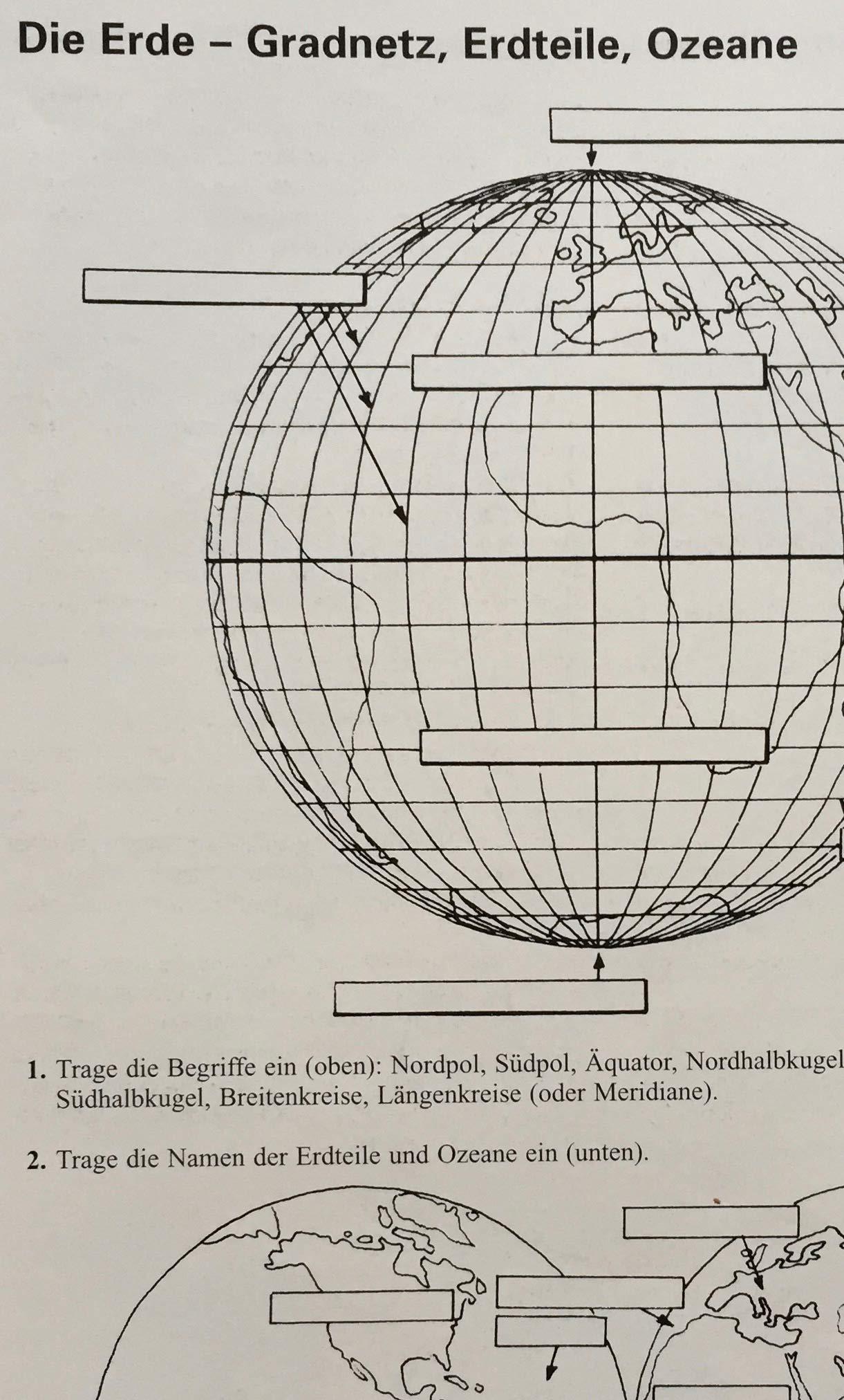 TERRA Arbeitsblätter Geographie Orientierung  Rother, Lothar ...