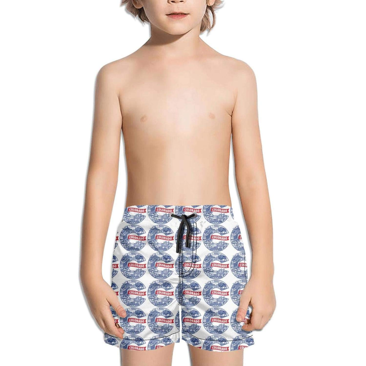 Ina Fers.Quick Dry Swim Trunks Colorado - All You Need is Love Shorts for Boys