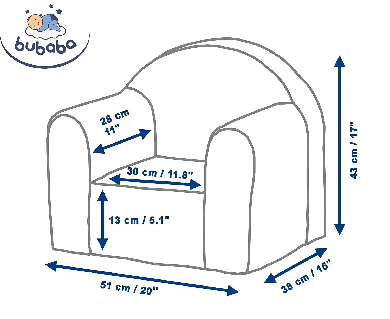 fabriqué en UE super léger 1kg mousse résistante Bubaba Thème:Ballons Apollo 12 designs différents Fauteuil pour enfant