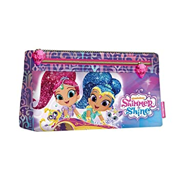 Shimmer y Shine - Estuche escolar doble Shimmer y Shine ...